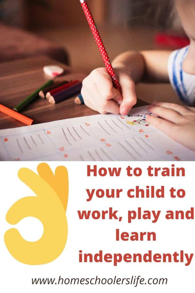Teaching your child to learn independently