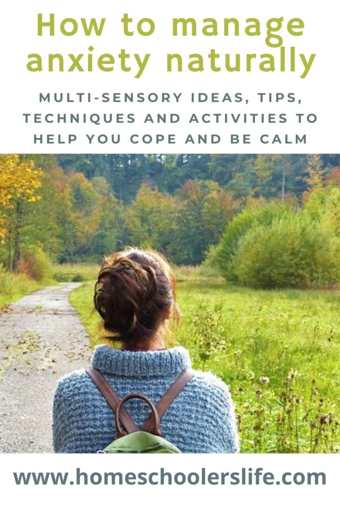 how to manage anxiety naturally