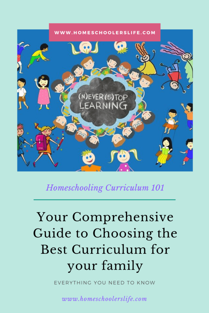 How to choose the best homeschooling curriculum